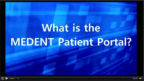 Cortland Eye Center now offers the medent patient portal how to video.